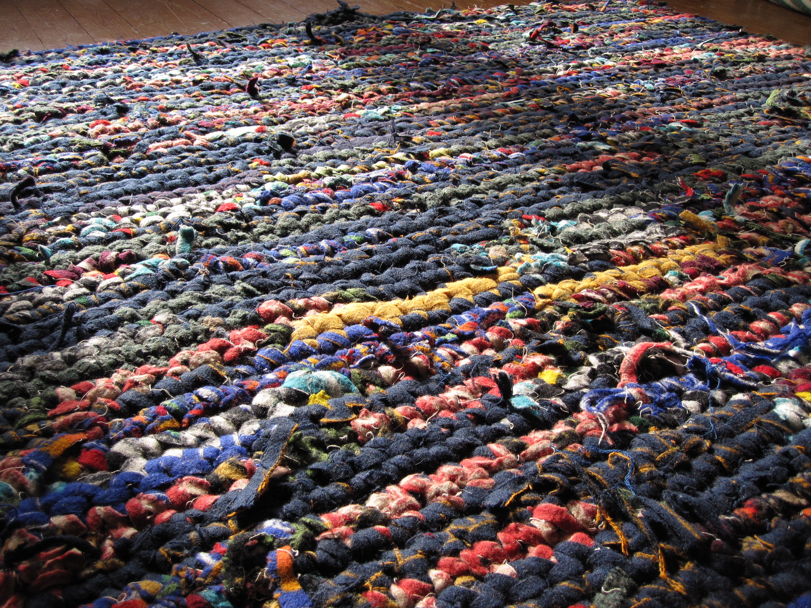 Portland Diy Pendleton Crochet Scrap Wool Rag Rugs