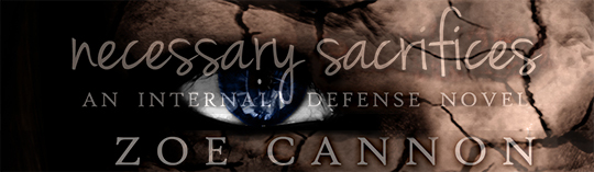 COVER REVEAL: Necessary Sacrifices by Zoe Cannon