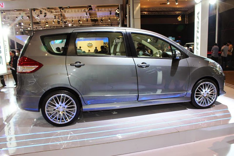 Modifikasi Mobil Suzuki Ertiga Spoty
