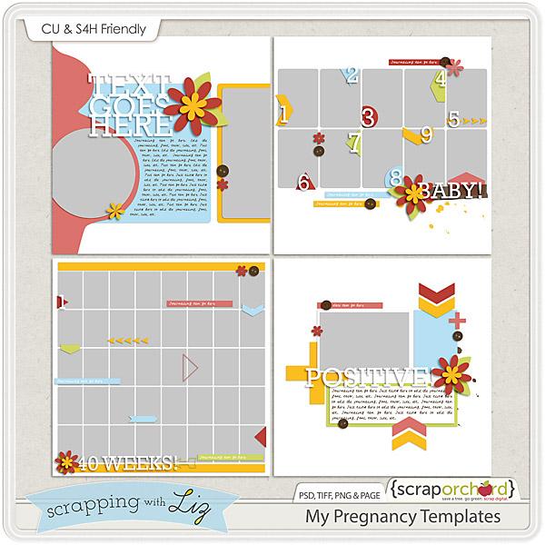 http://scraporchard.com/market/My-Pregnancy-Digital-Scrapbook-Templates.html