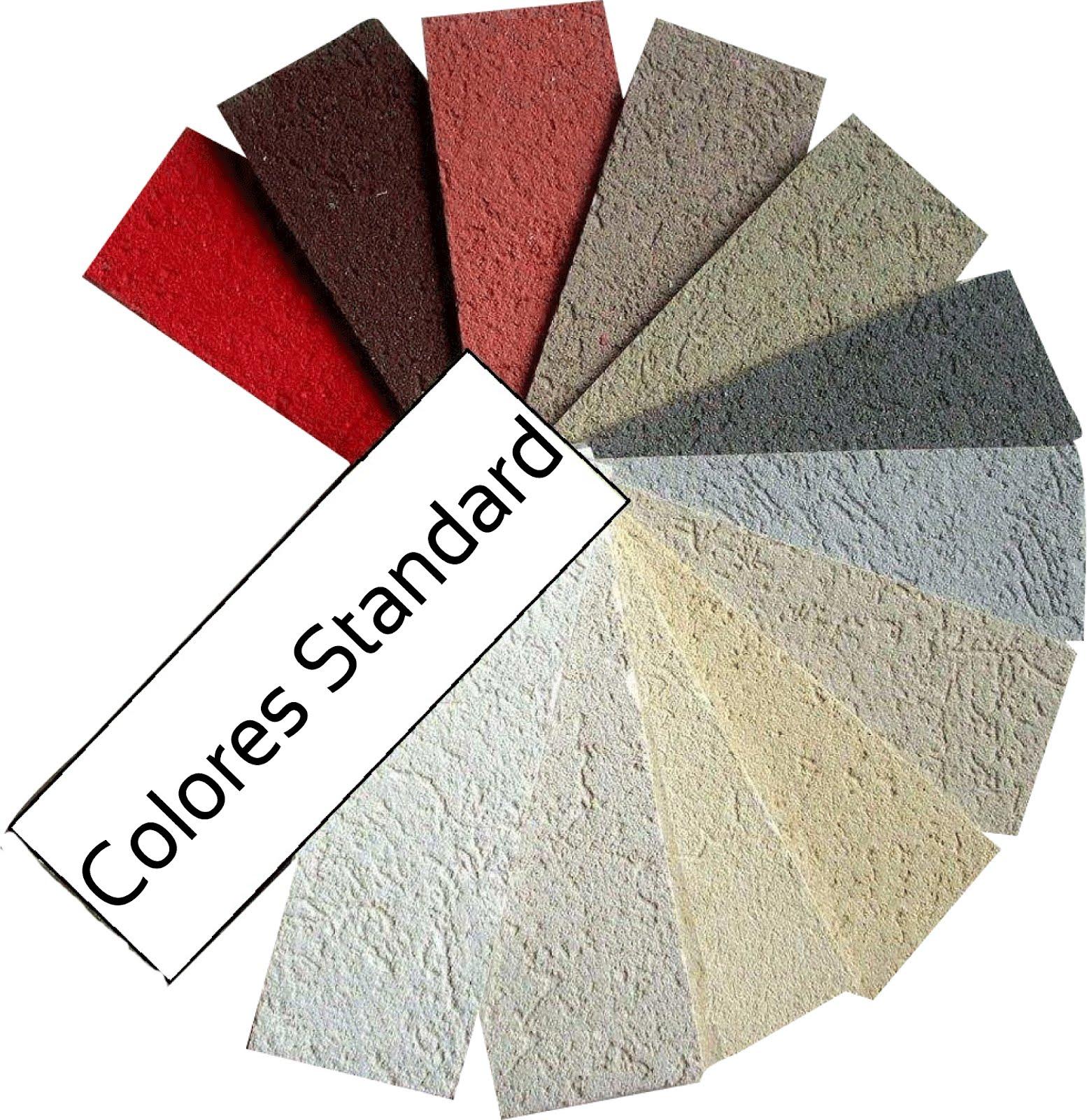 Revestimiento plastico texturado para exteriores - Aplicacion colores paredes ...