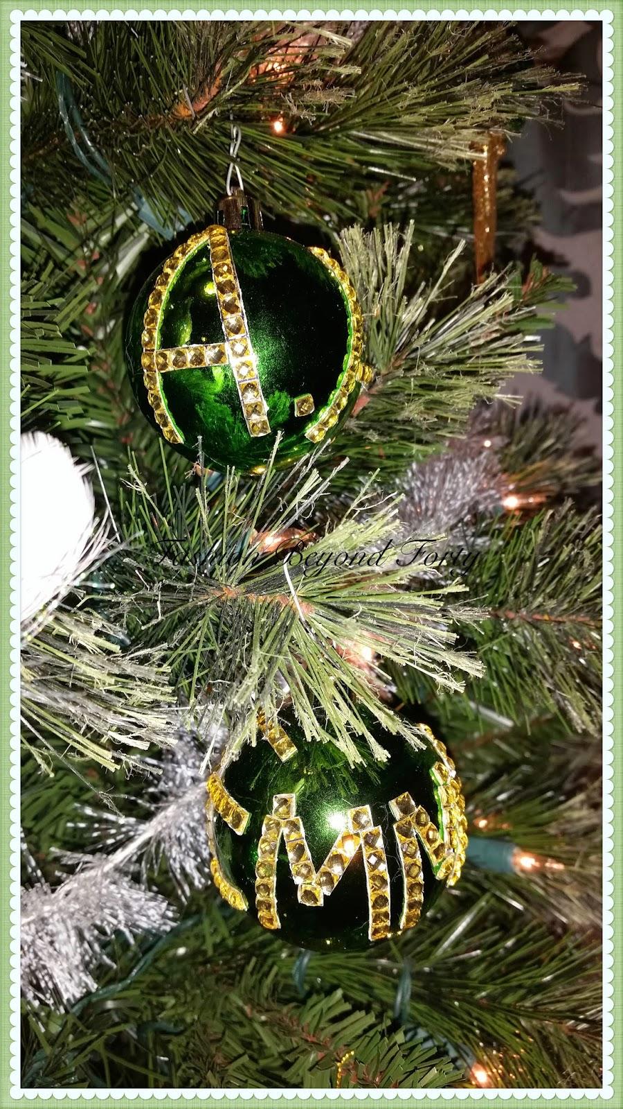 Fashion Beyond Forty Christmas Ornaments