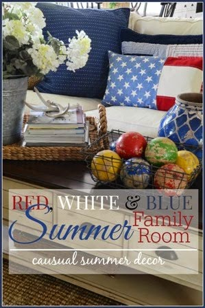 AMERICANA FARMHOUSE SUMMER STYLE