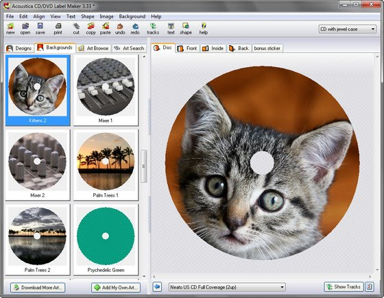 Acoustica label maker 3.33 keygen