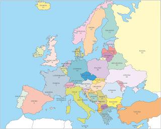 Il mondo del sapere per grandi e piccini l 39 europa - Mappa di ungheria ed europa ...