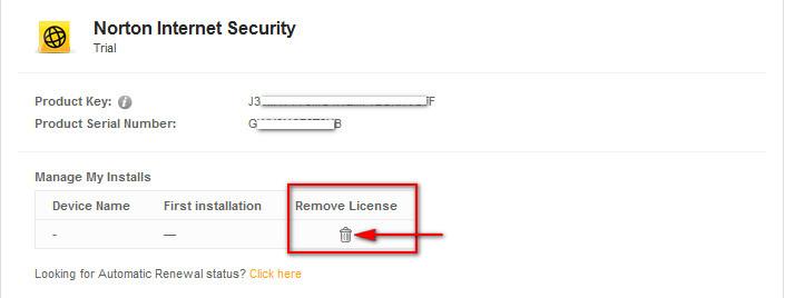 norton antivirus  already have product key