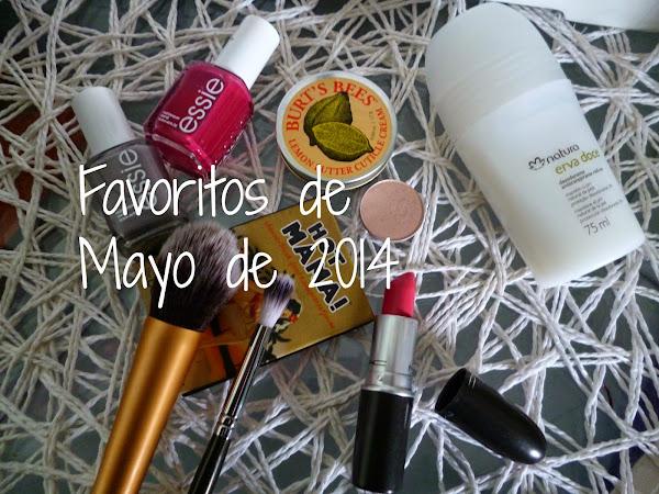 Favoritos de Mayo 2014