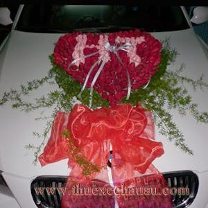 Hoa xe cưới MS008