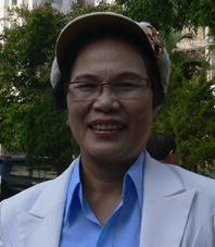 Cô Hồ Thị Thu  -  Ảnh: Nhật Minh.