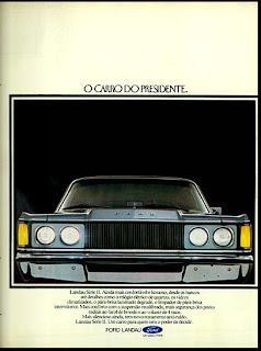ford. brazilian advertising cars in the 70s; os anos 70; história da década de 70; Brazil in the 70s; propaganda carros anos 70; Oswaldo Hernandez;