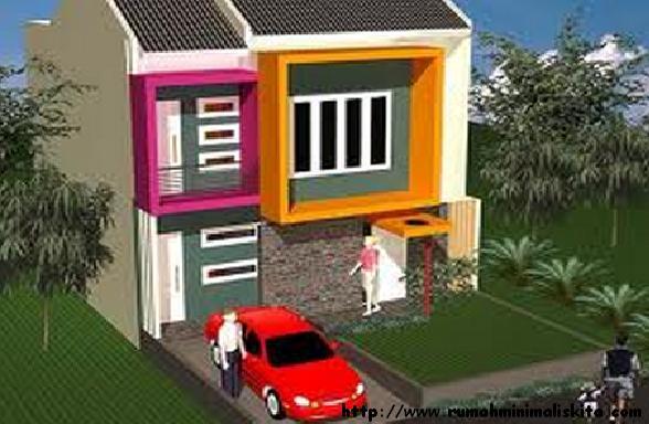 Galeri ide Model Rumah Minimalis Type 45 Tingkat 2 Lantai 2015 yang elegan