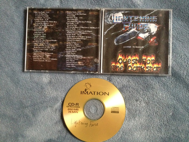 My Lightening Force music CD complete!
