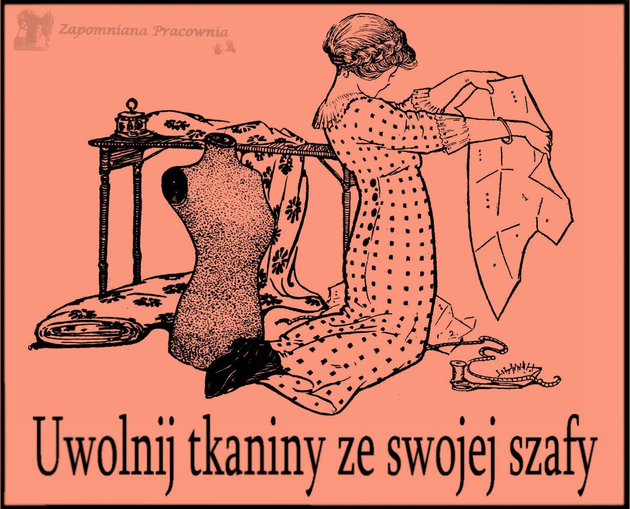 """Akcja """"Uwolnij tkaniny ze swojej szafy"""""""