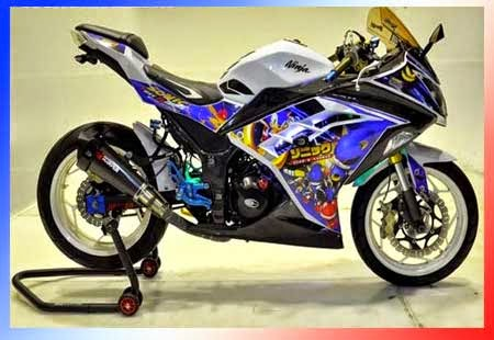 Gambar Modifikasi Motor Ninja 2015, Foto Modifikasi Ninja