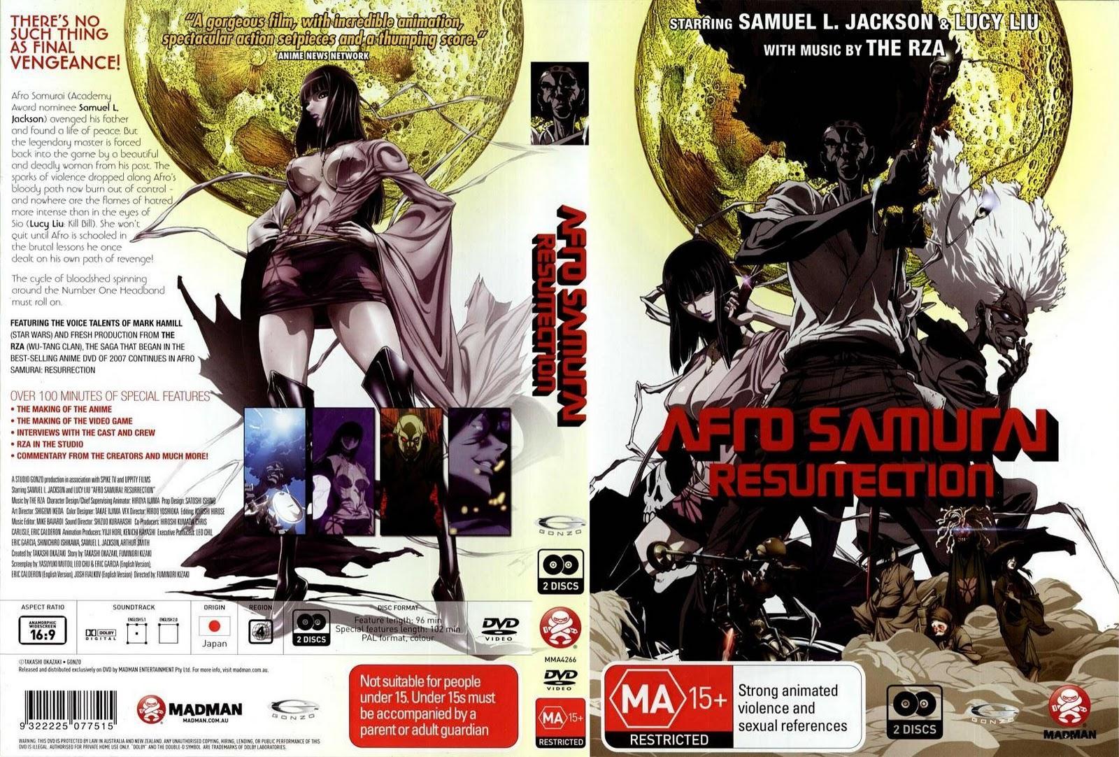 Afro Samurai: Resurrection Filme  (2009) Cov-7036-afro-samourai-complete-english