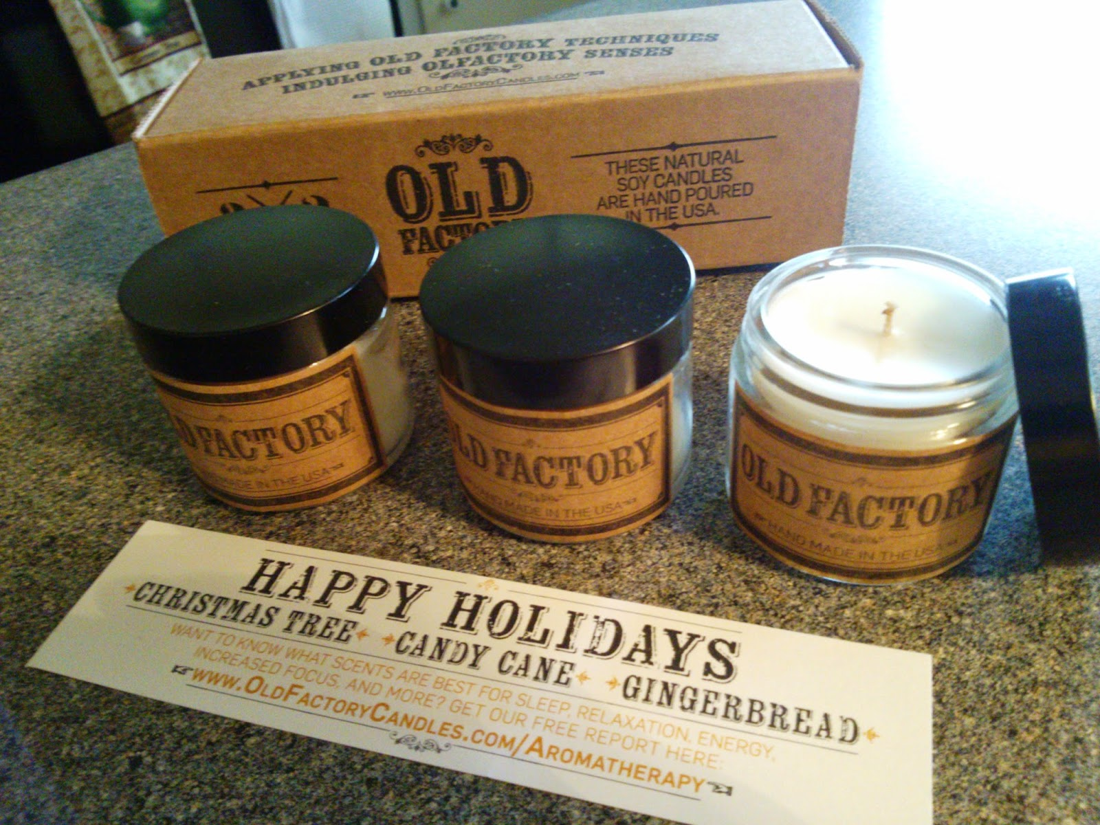 Old Factory Candle Gift Set Review + Giveaway