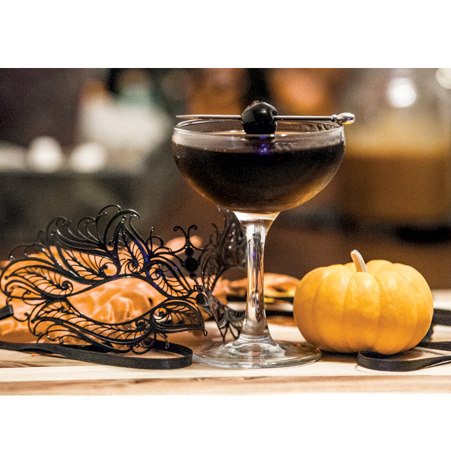 One to Nothin: Devil in Disguise Halloween Cocktail