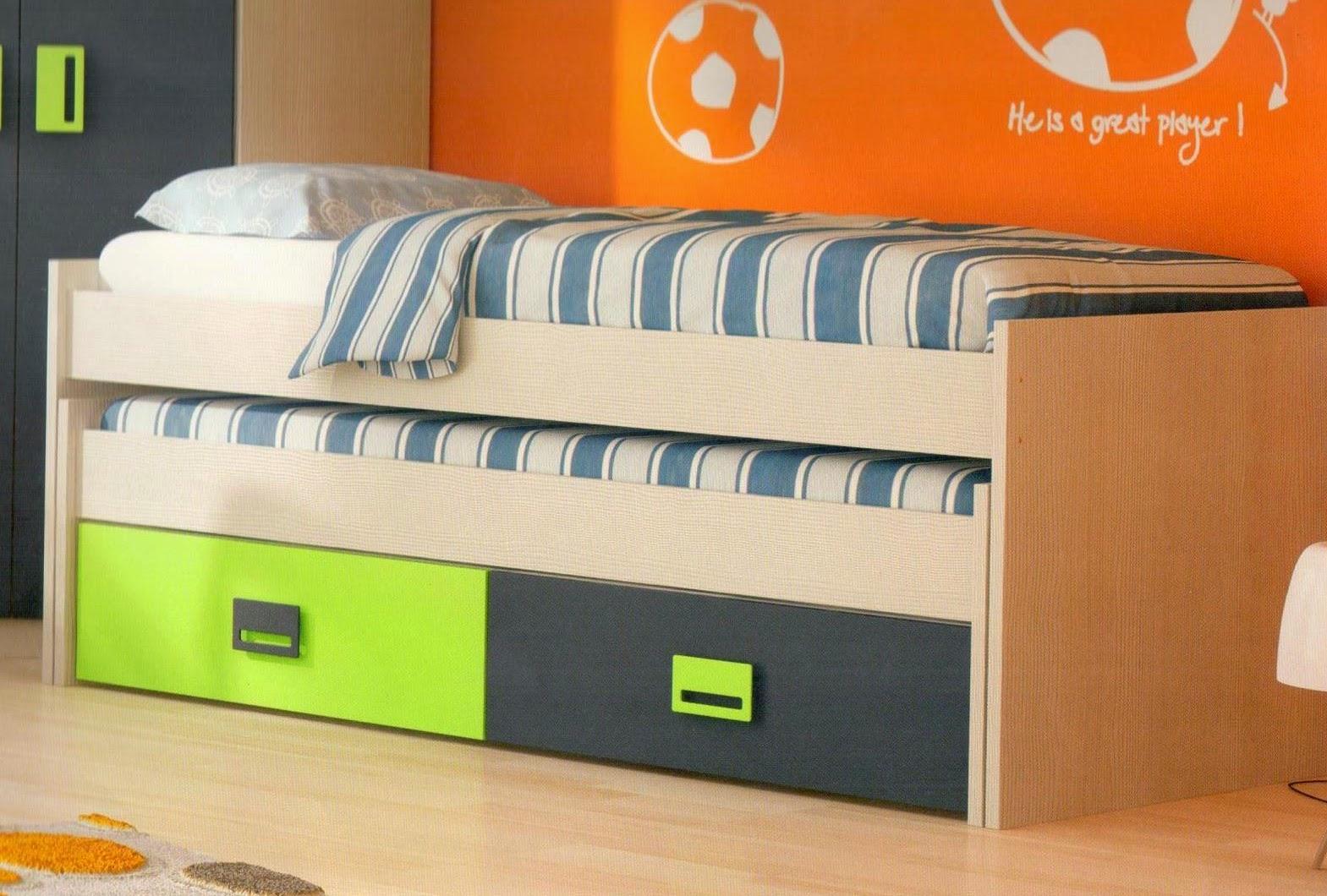 Dormitorios juveniles ( I ) : Elegir una cama compacta. Ventajas e ...