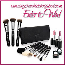 ShyCheeeks Sigma brushes + MAC giveaway!