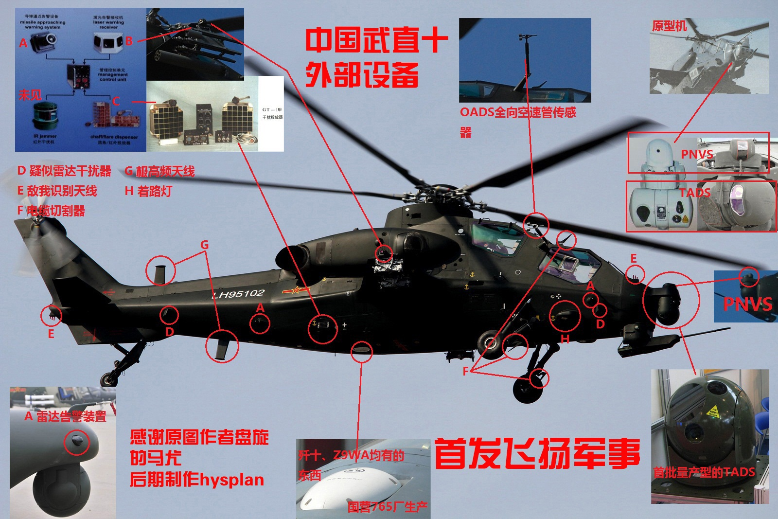 Military Helicopters: Pictures and Videos - Page 2 WZ-10+SENSORES