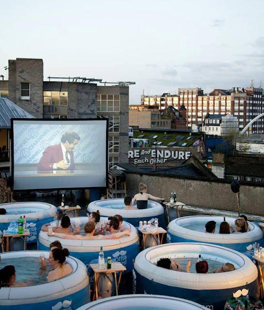 Festival de cine en piscina