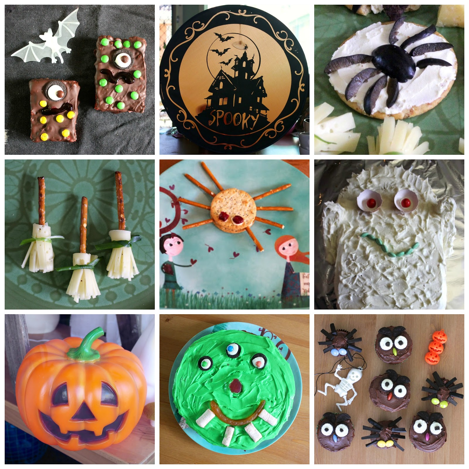 halloween recipes cakes and snacks - Gourmet Halloween Recipes