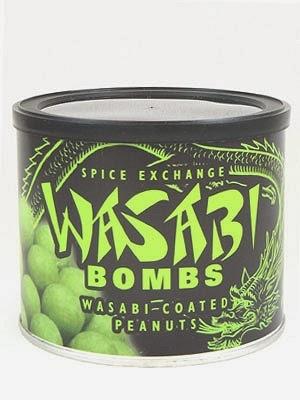 wasabi-coated peanuts