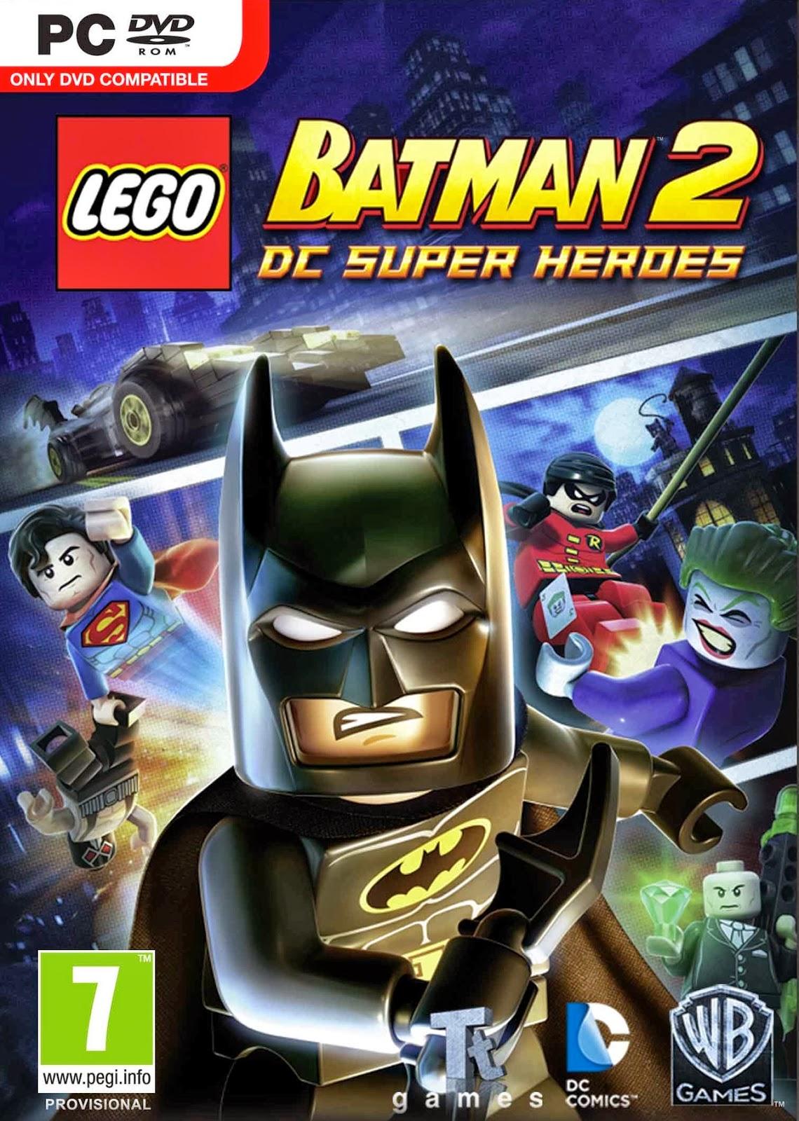 lego batman 2 dc super heroes reloaded download full. Black Bedroom Furniture Sets. Home Design Ideas