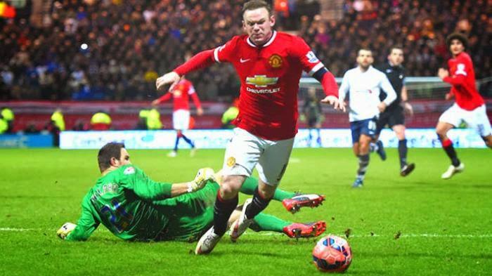Panggung Rooney Saat Man United Melaju: Akting Jatuh Sempurna, Diam yang Jadi Gol