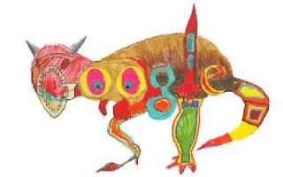 Ilustrasi Gambar Google Dinosaurus