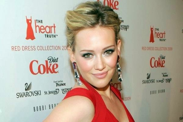 Hilary Duff at The Heart's Truth Red Dress Collection Fashion Show