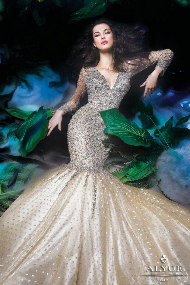 Vestidos maxi manga larga | Belleza y Moda al Vestir