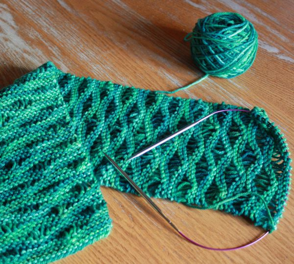 Good Knitting Stitches For Scarves : SewChic: January 2012
