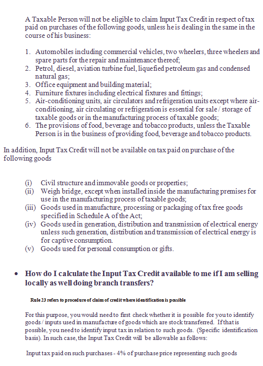 SOME USEFUL POINTS ON PUNJAB  VAT IMAGE 3