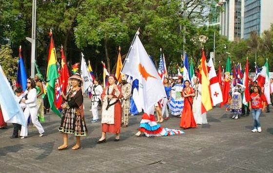Feria de las Culturas Amigas 2014 en el Zócalo
