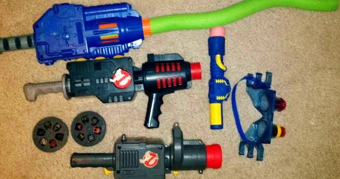 Best Ghostbuster Toys : The man who stares at toys toy review real ghostbusters