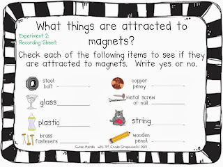 http://www.teacherspayteachers.com/Product/Magnet-Sorting-Experiment-FREEBIE-240462