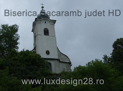 Biserica catolica in satul Sacaramb