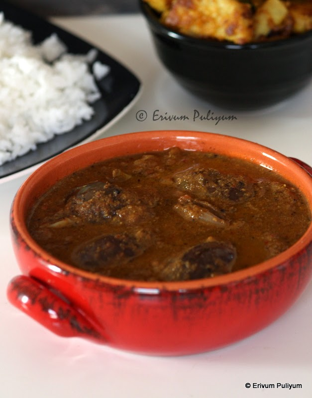 Brinjal Curry | Vazhuthananga Curry (Tamilnadu Style)