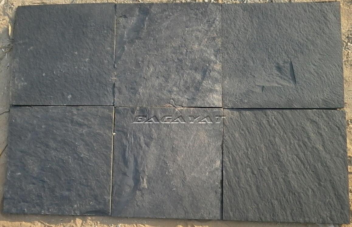 Natural Black Slate : Indian slate stones himachal black stone