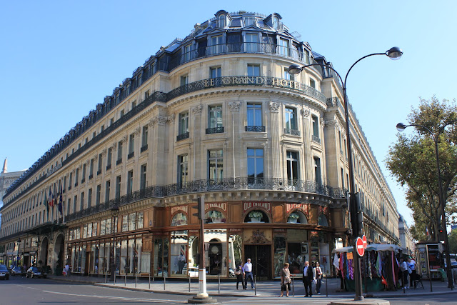 Le Grand Hotel in Paris, France