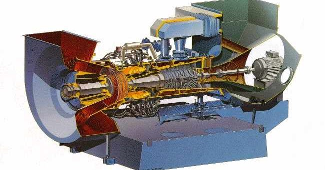Engineering Photos Videos And Articels  Engineering Search Engine   25 Mw Gas Turbine Gt10 Abb