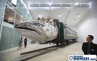Kereta Api Berkepala Haiwan