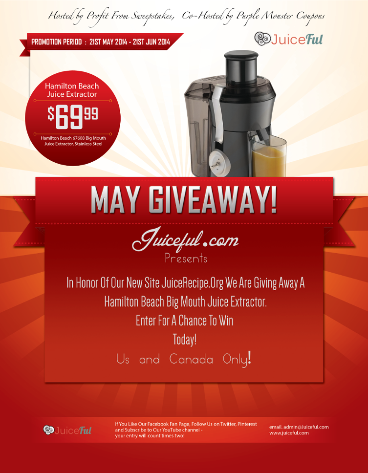 Big Mouth Juice Giveaway