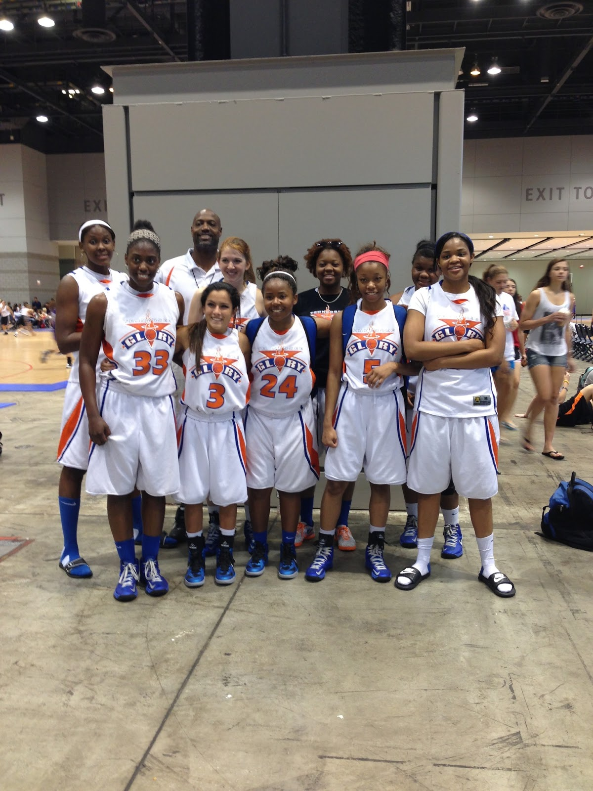 Tennessee Basketball Team Team Tennessee Glory 16u