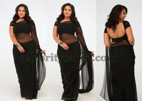 Samvrita Sunil Deep Neck Blouse