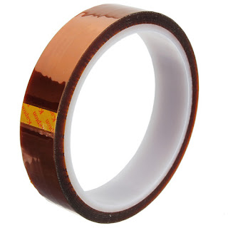 20mm x 100ft High Temperature Heat Resistant Kapton Tape Polyimide BGA 2cm