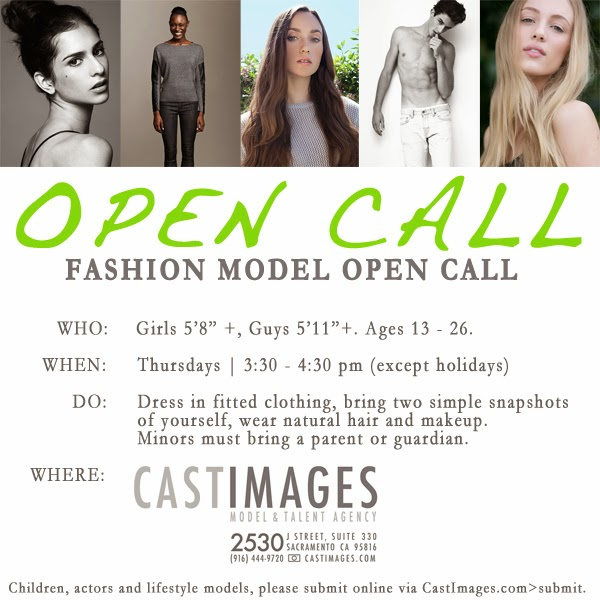 Cast Images Open Call Flyer