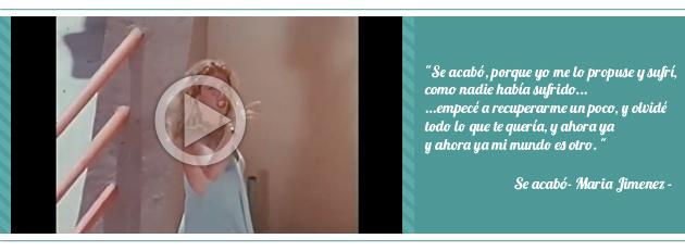 Maria Jimenez: Se acabó