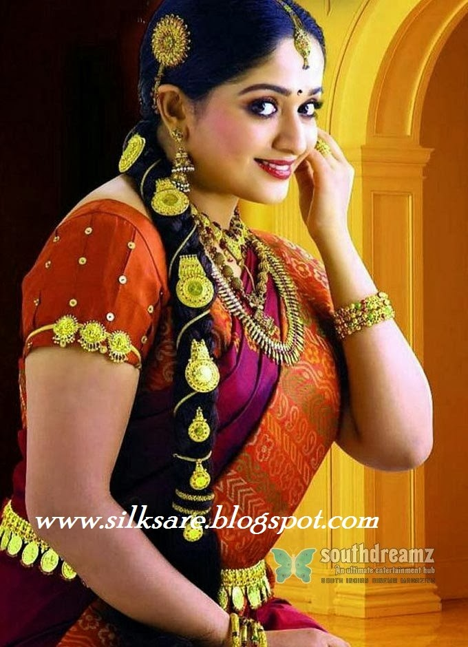 Hairstyles For Long Hair On Saree : Hairstyle for kerala saree u2013 you hair style blog
